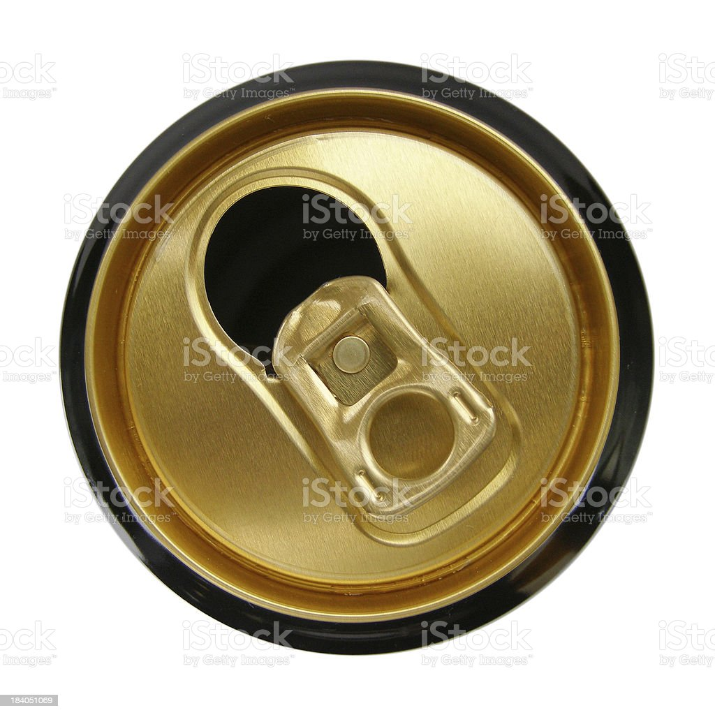 Beer Can royalty-free stock photo
