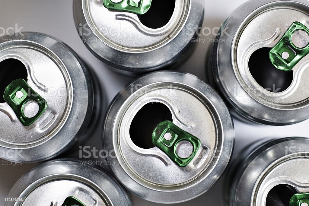 beer cans royalty-free stock photo