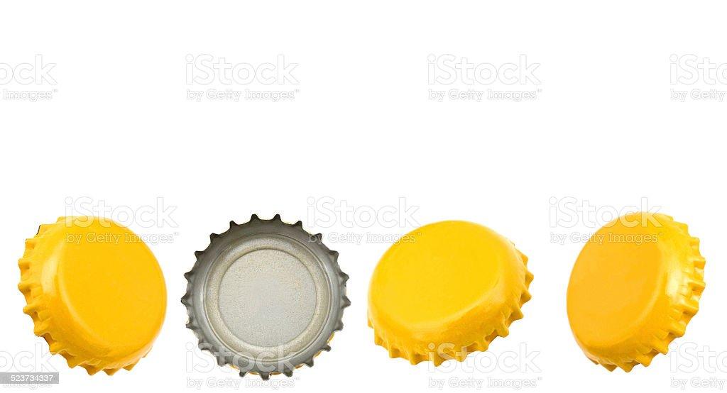 Bier-Kappen in row – Foto