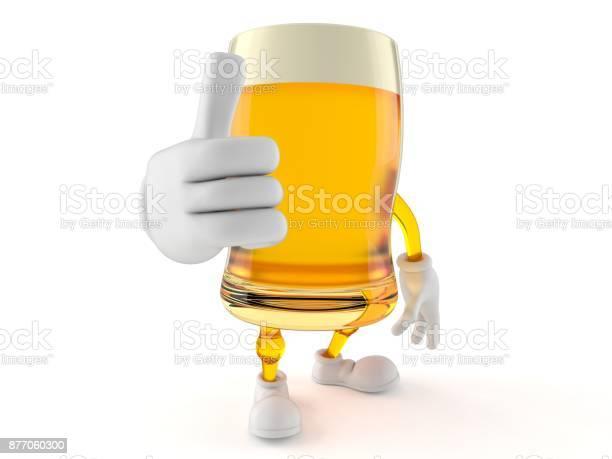 Beer character with thumbs up gesture picture id877060300?b=1&k=6&m=877060300&s=612x612&h=pyxl0mqrkdvdfo5xiptpsxobxppi 9lajdtfs5bxtwa=