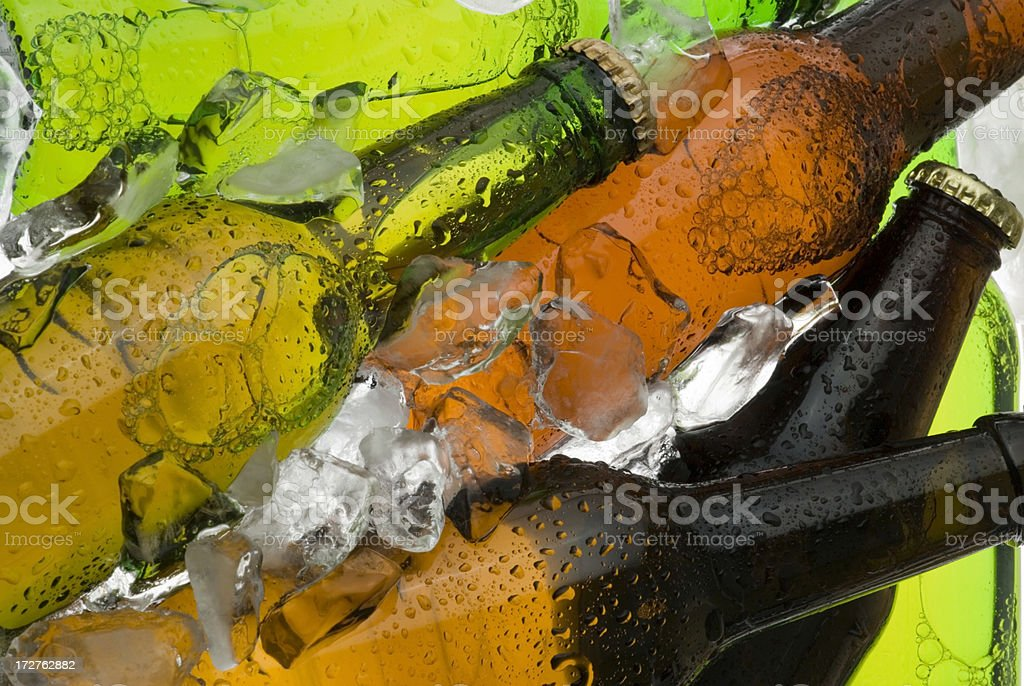 Beer cooler royalty-free stock photo