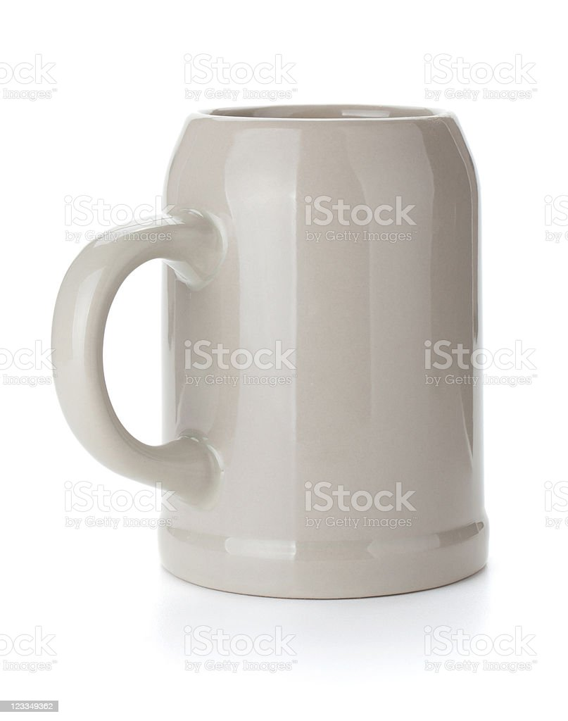 Beer cup stock photo