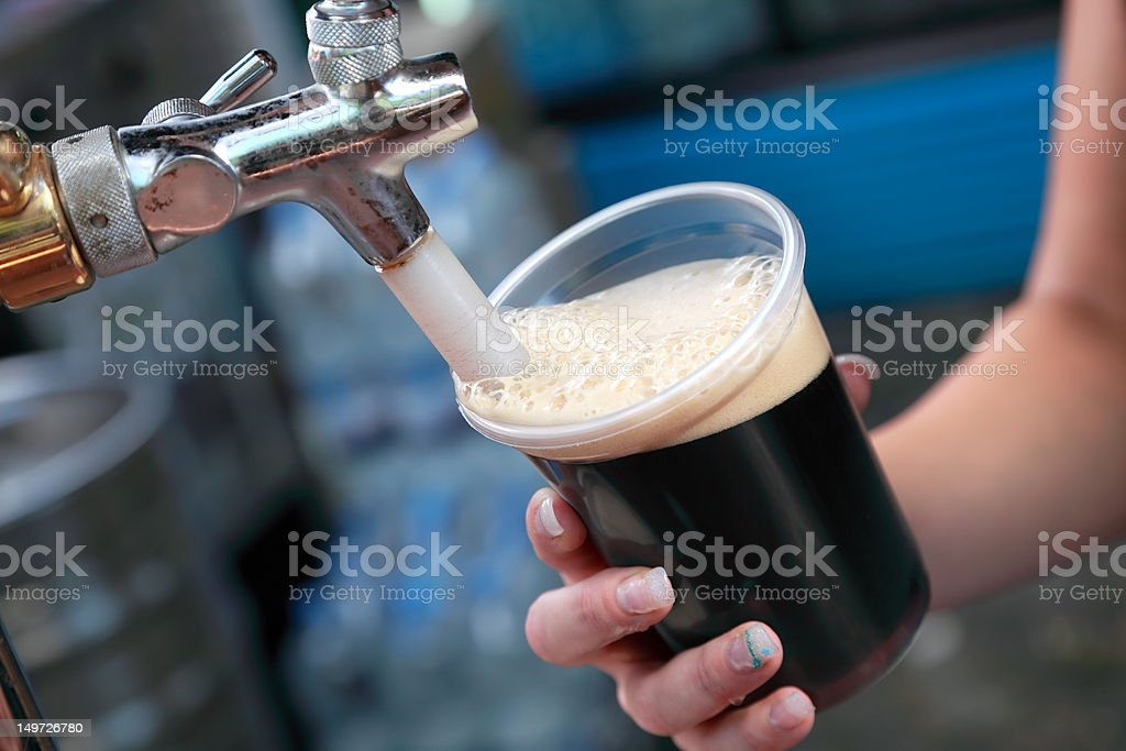 Beer festival stock photo