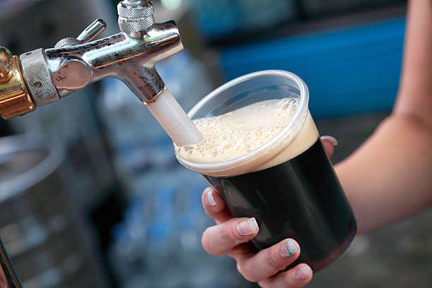 Beer festival stock photo