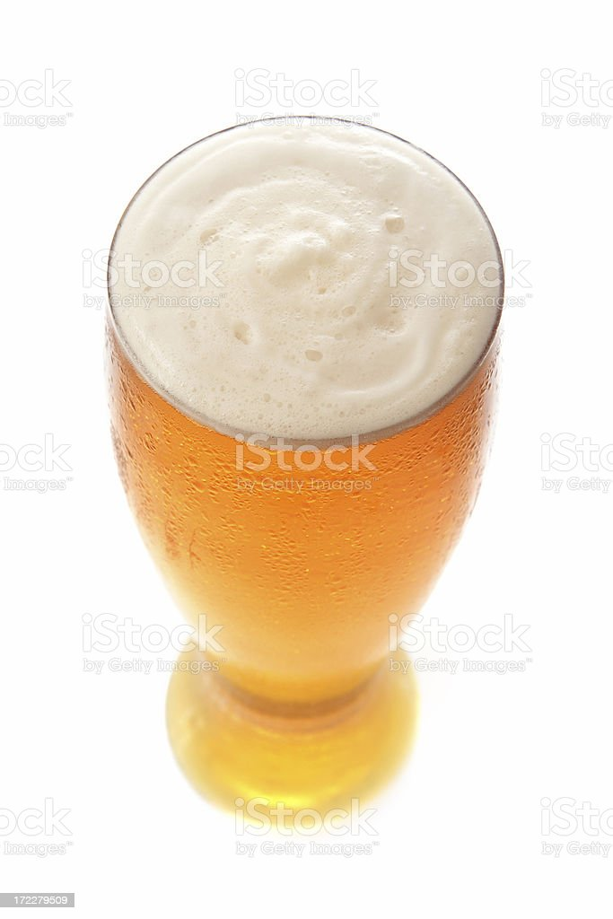 Beer From Above stock photo