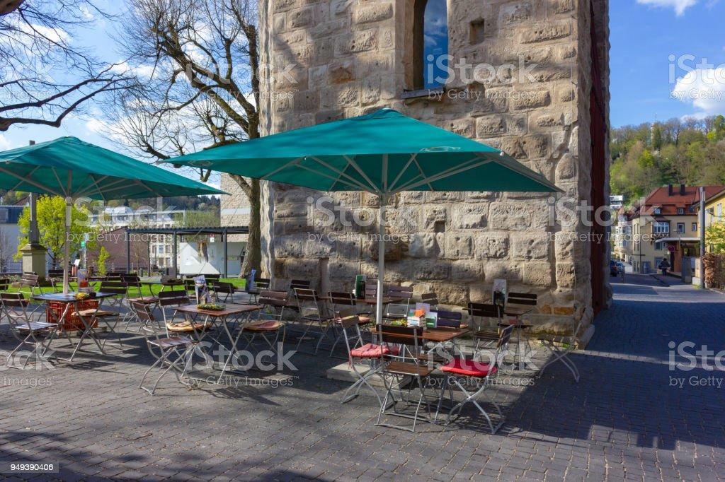 Beer Garden Restaurant Stock Photo Download Image Now Istock