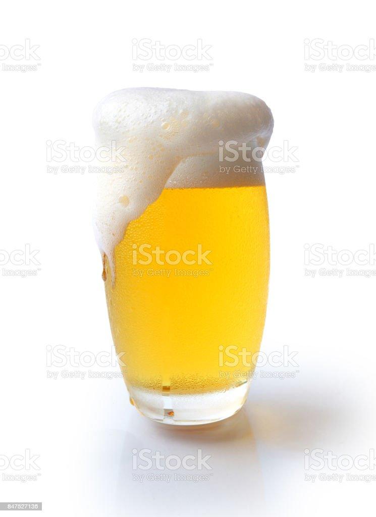 Überquellen Bier – Foto