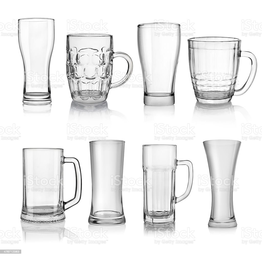 Beer glasses​​​ foto
