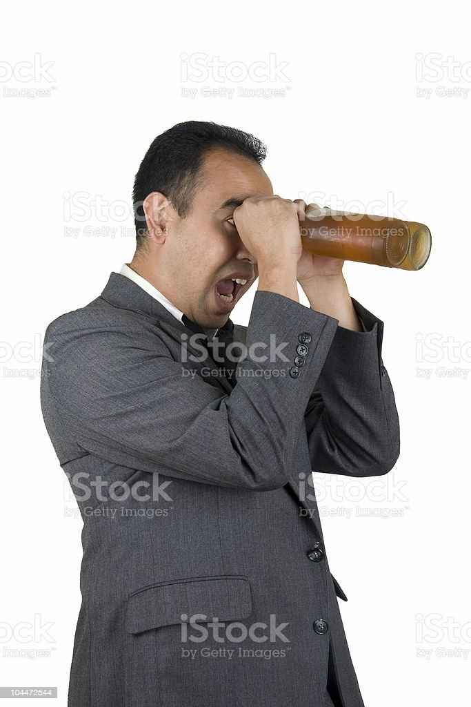 Beer Goggles 2 royalty-free stock photo