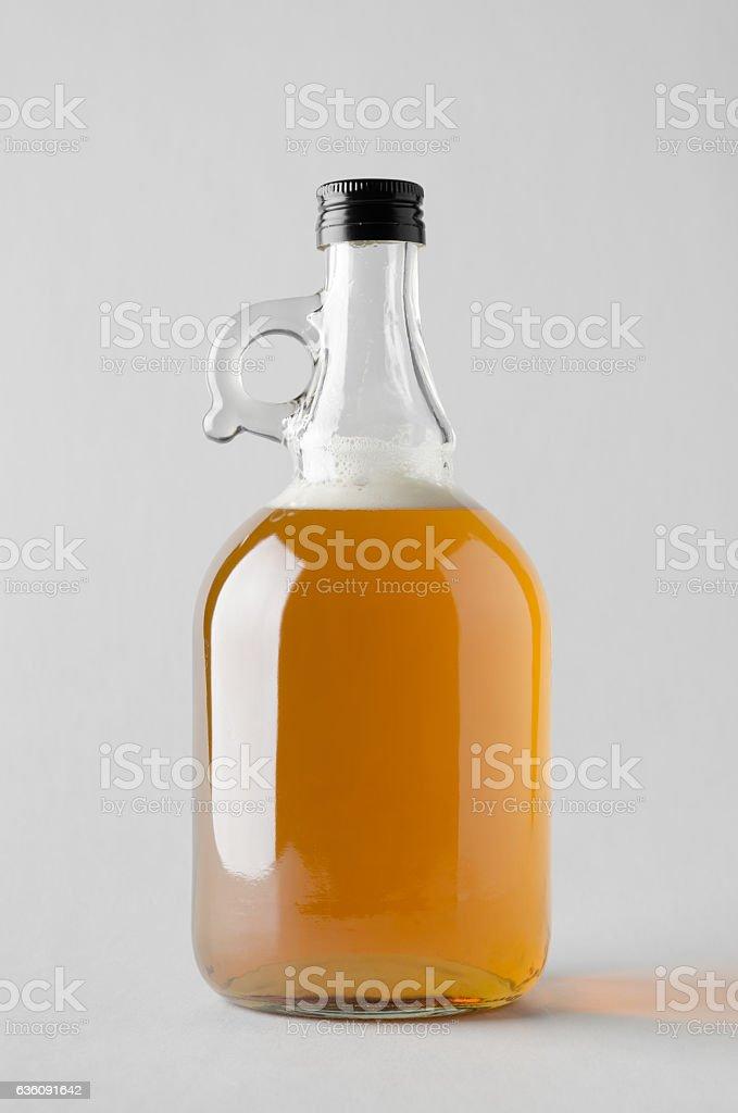 Beer Growler Mock-Up stock photo