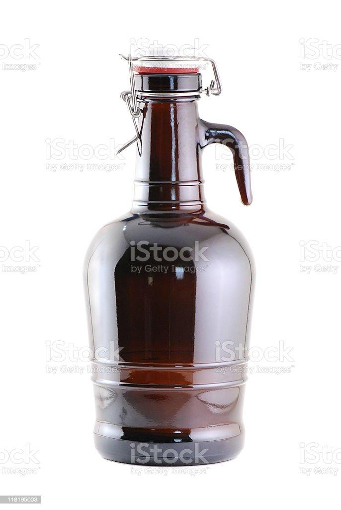 Beer Growler stock photo