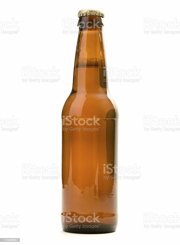 beer in bottle royalty-free stock photo