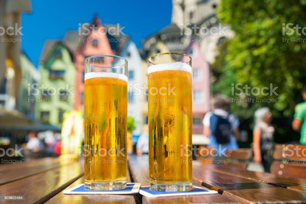 Bier in Köln Lizenzfreies stock-foto