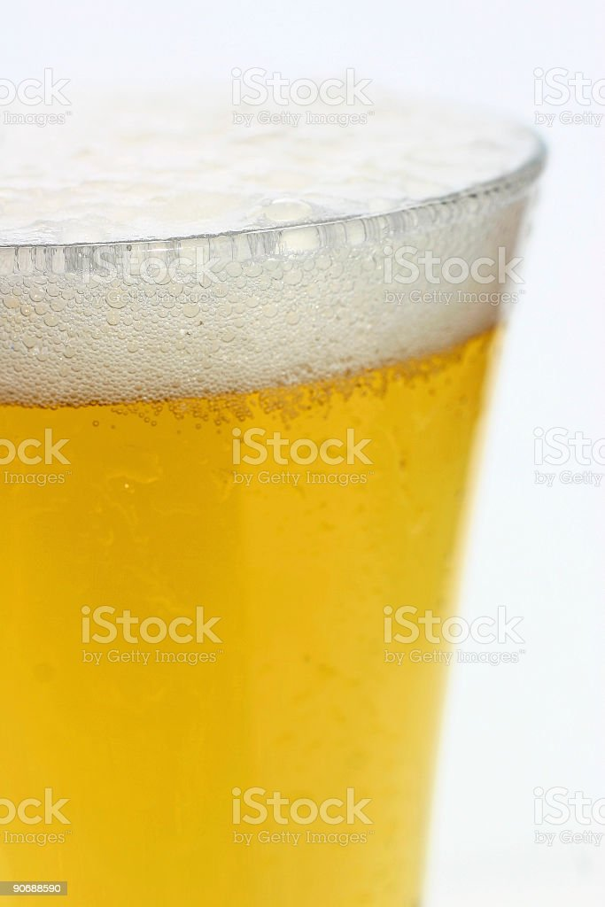 Beer - isolated stock photo