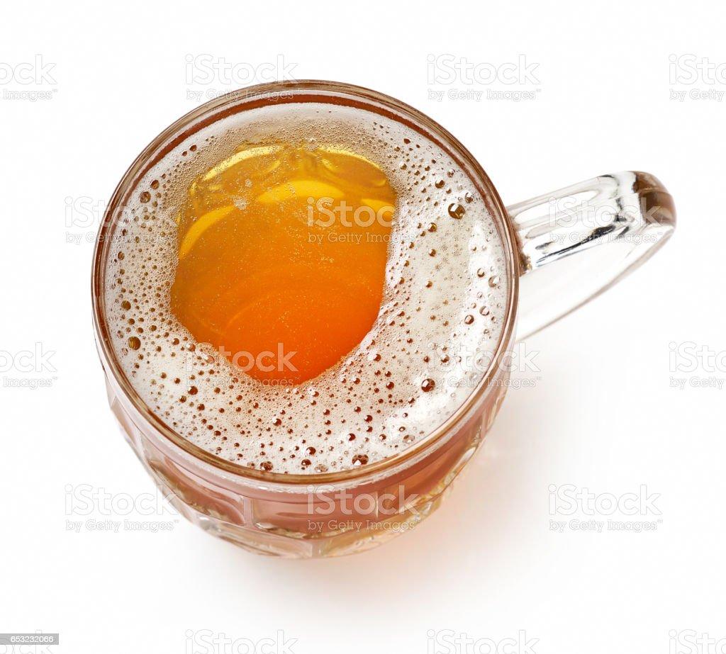 beer jug on white background – Foto