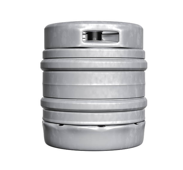 Beer keg stock photo