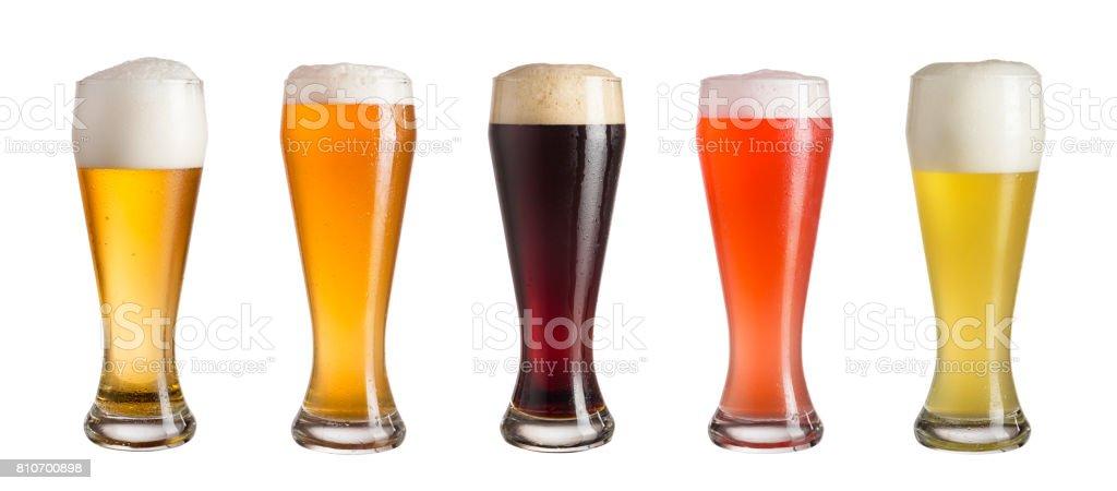 Beer mix stock photo