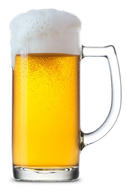 beer mug - beer foam stock photos and pictures