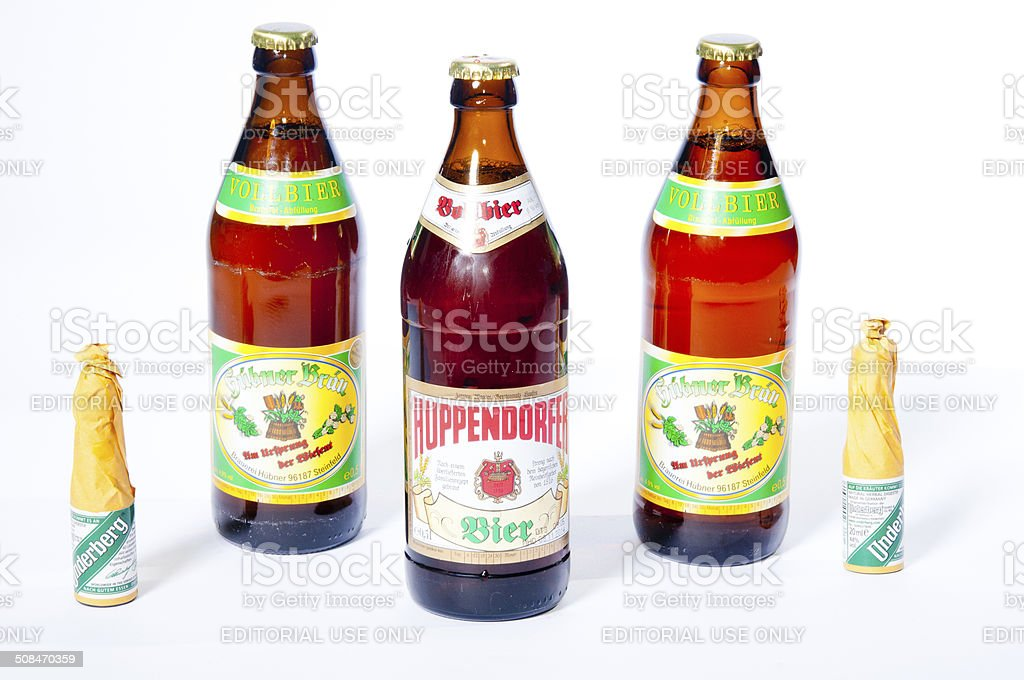 Beer of Franconia stock photo