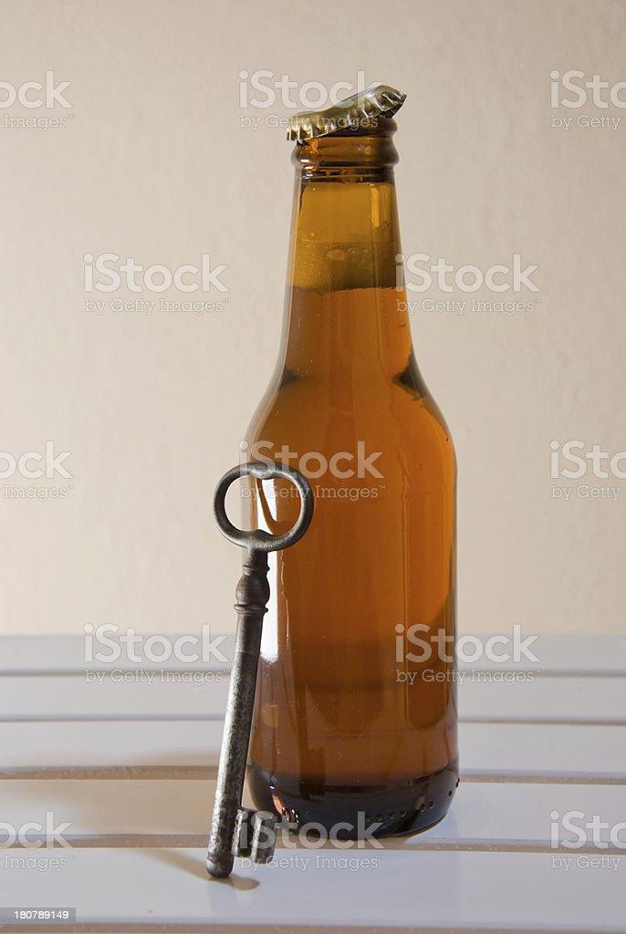 beer opener royalty-free stock photo