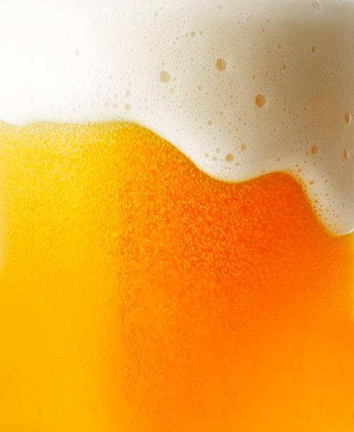 beer - beer foam stock photos and pictures