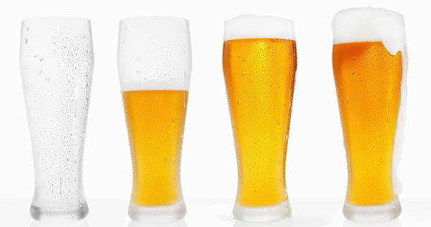 beer - beer glass stock photos and pictures