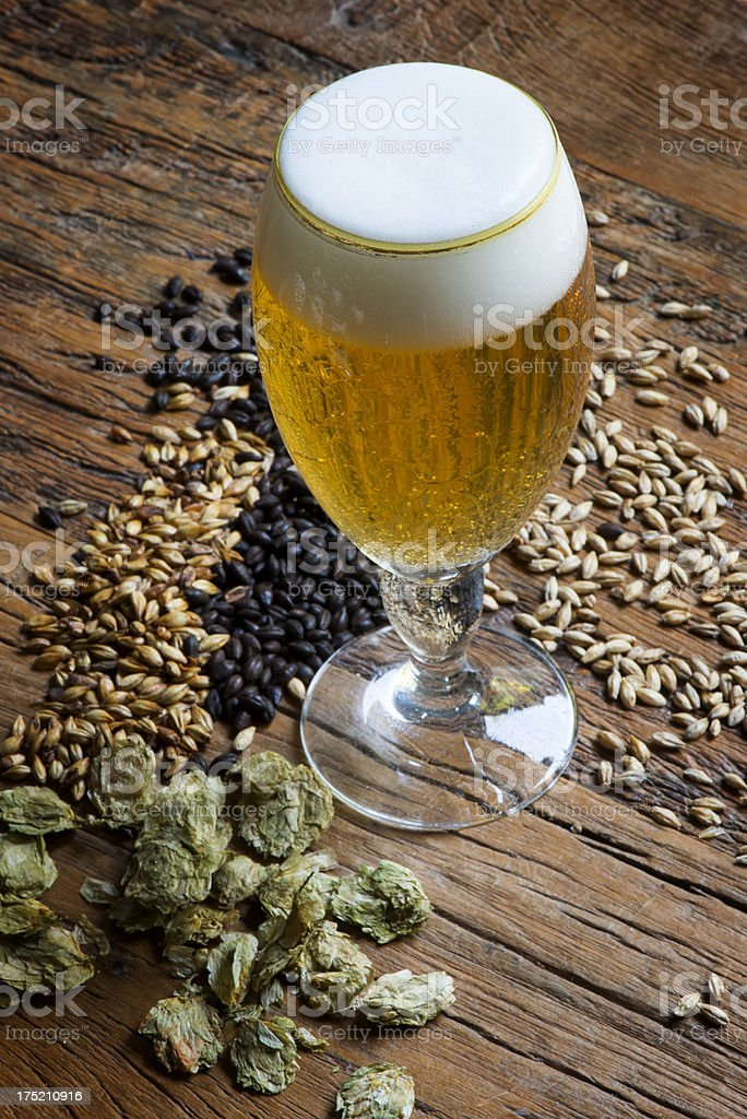 Beer stock photo