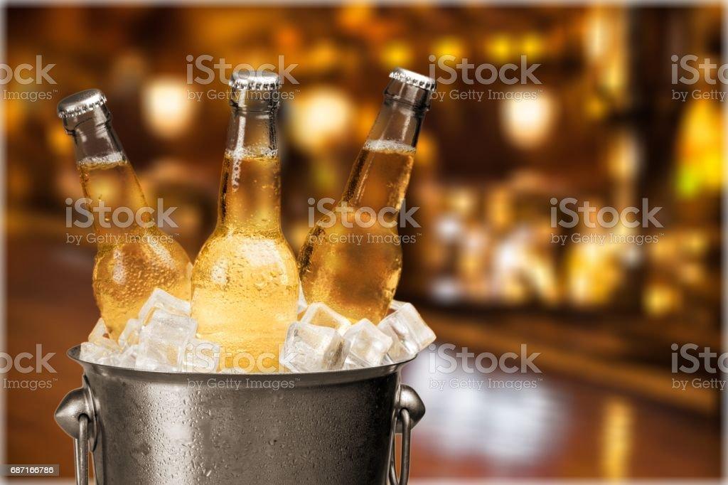 Beer. - foto de acervo