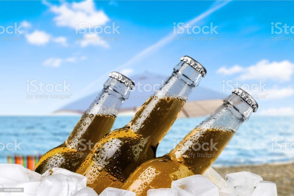 Cerveja. - foto de acervo