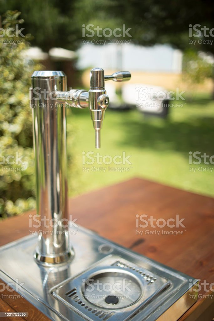 Beer Pump In Luxury Hotel Wedding Party Ready For Marriage Guests To