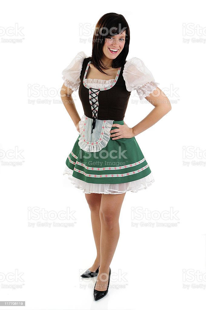 Beer Server royalty-free stock photo