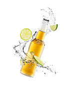istock Beer splash 1289887921