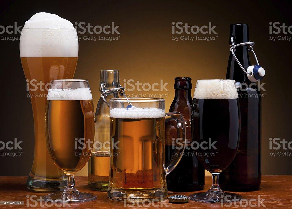 Bier Stilleben – Foto