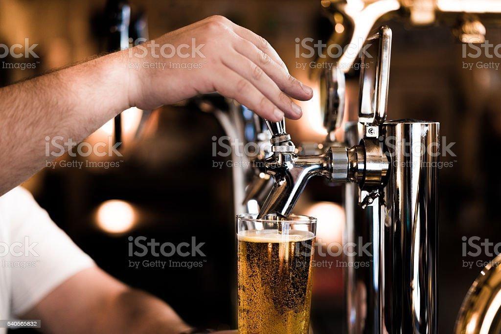 Bier Fass in Osaka, Japan Lizenzfreies stock-foto