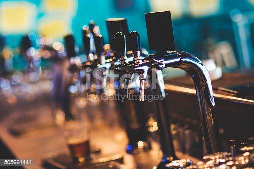 istock Beer tap 505661444