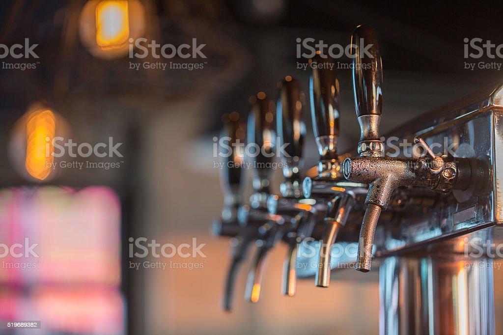 Spillatore per la birra - foto stock