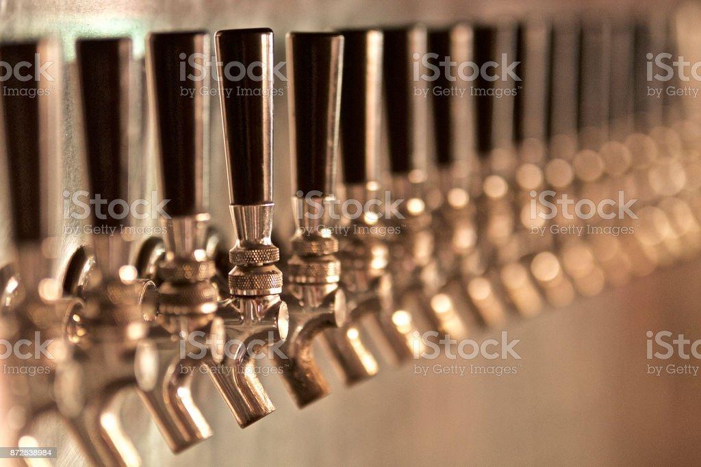Bier-Zapfhahn – Foto