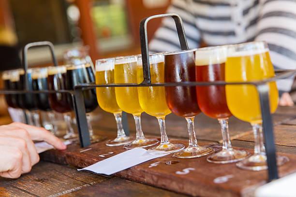 Bier-Verkostung – Foto