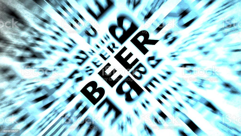 beer text retro vintage wallpaper stock photo