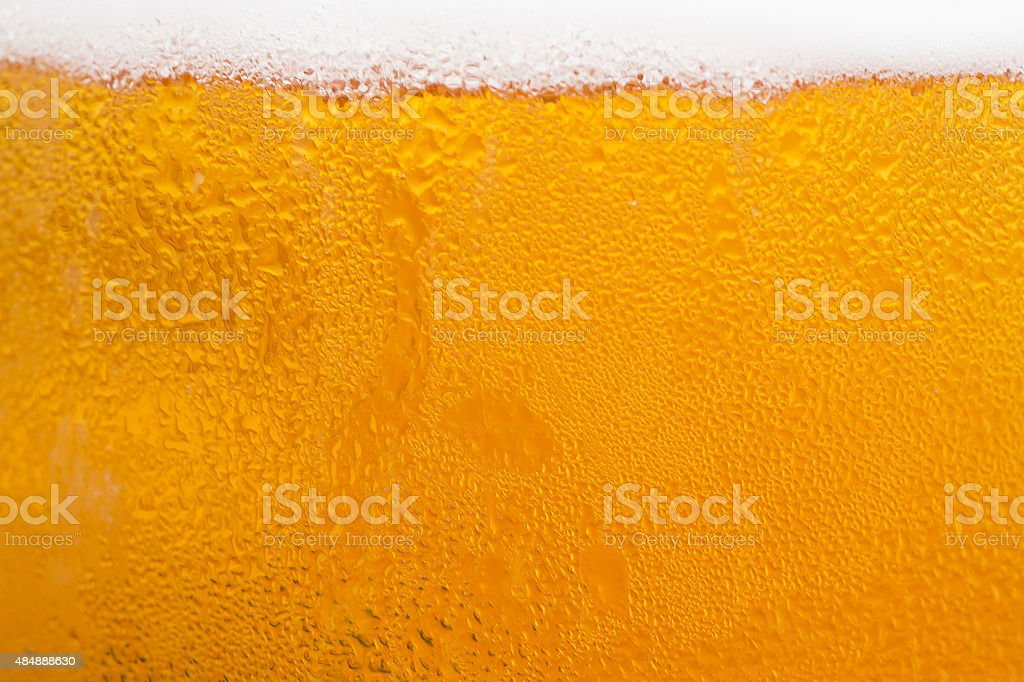Beer texture background stock photo