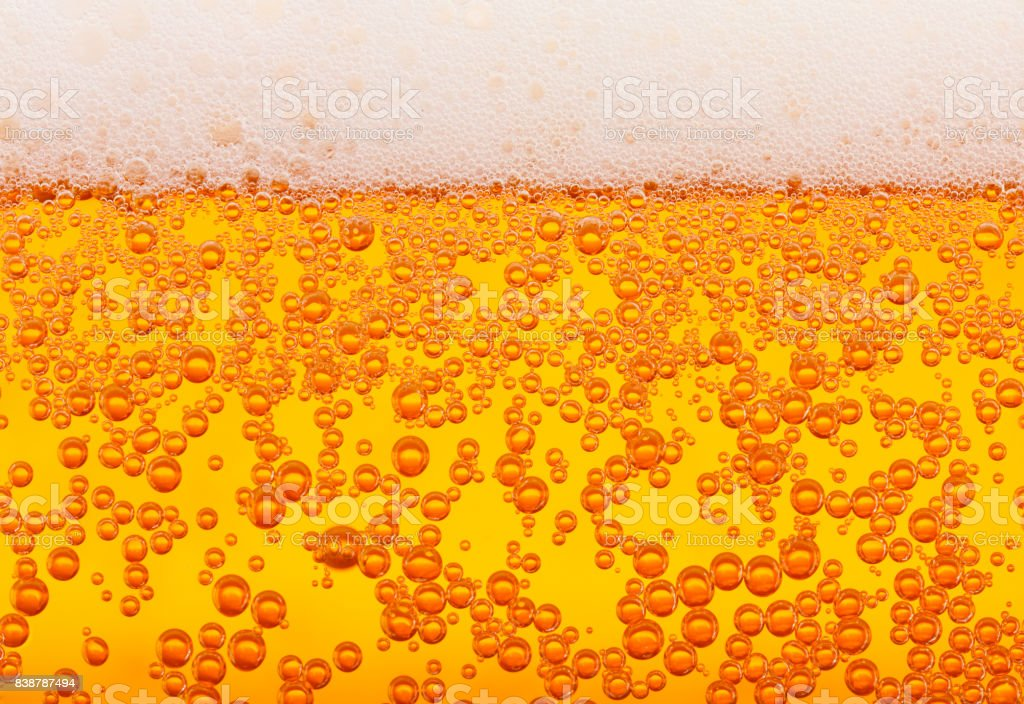 Beer texture, seamless stock photo