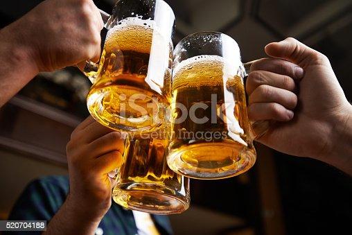 istock Beer toast 520704188