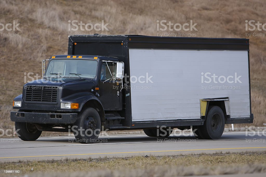 Beer Truck royalty-free stock photo
