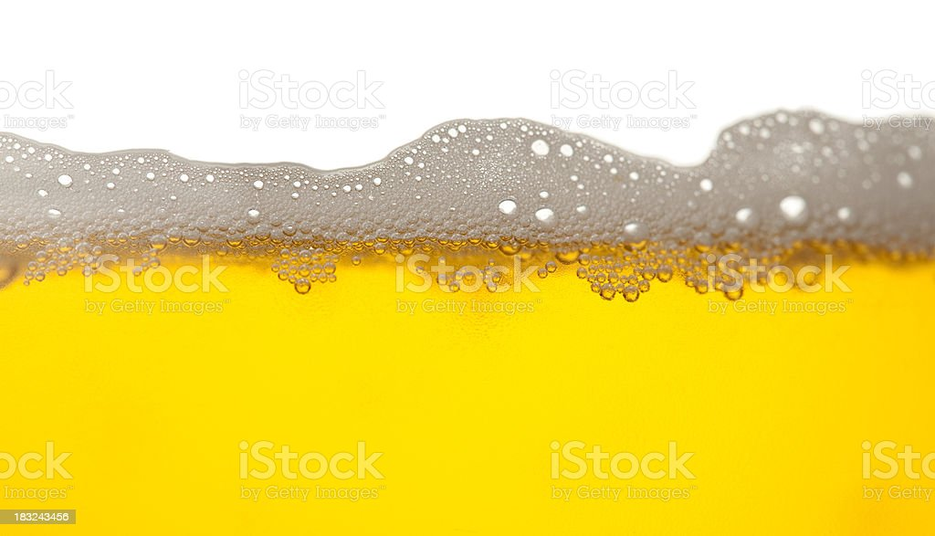 Beer with forth stock photo