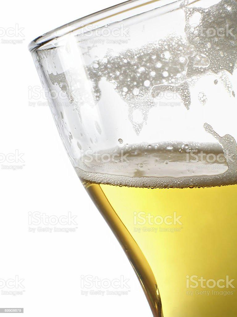 Cerveza a mug primer plano foto de stock libre de derechos