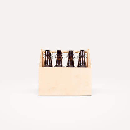 Download Beer Wooden Box Mock Up Isolated Stock Photo & More ...