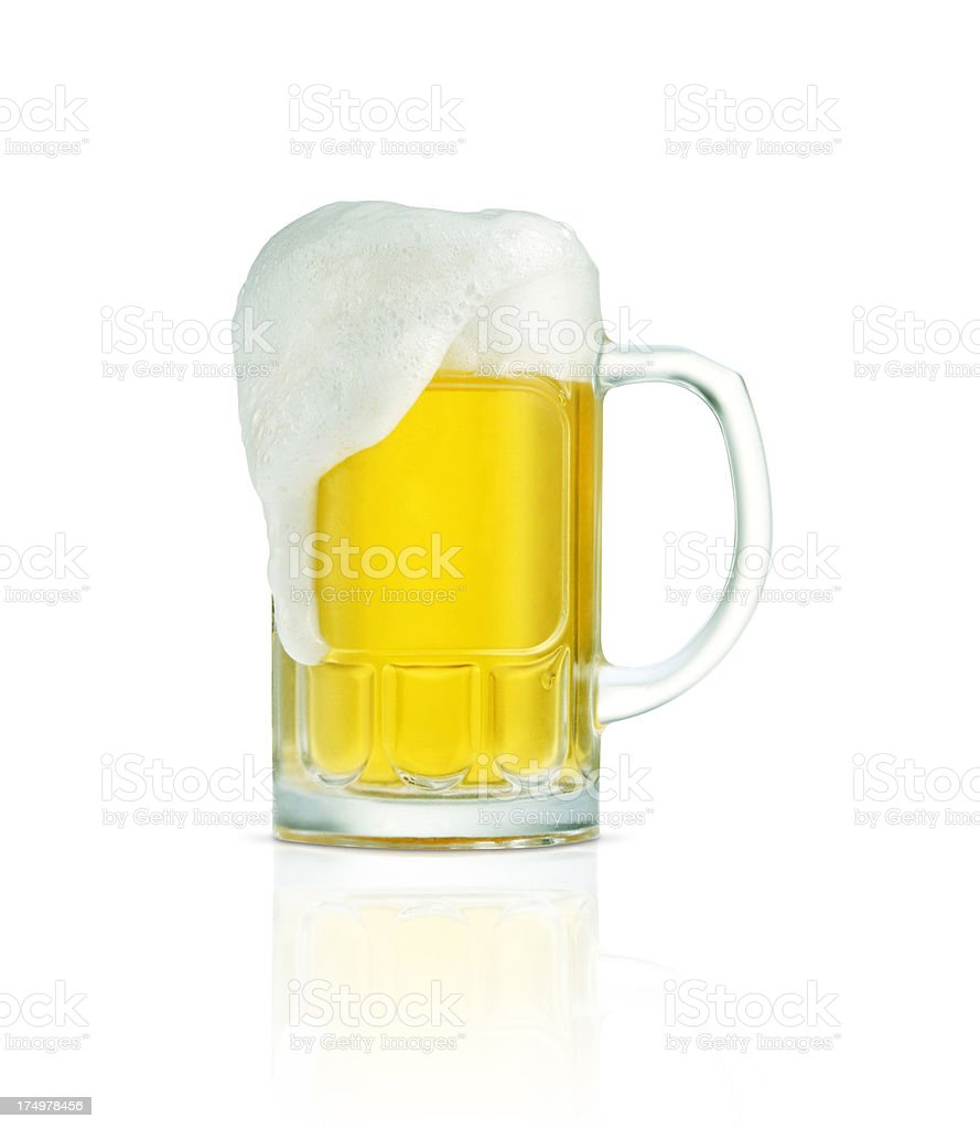 Beer+Clipping Path (Click for more) stock photo