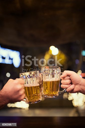 istock Beers and cheers 636398772