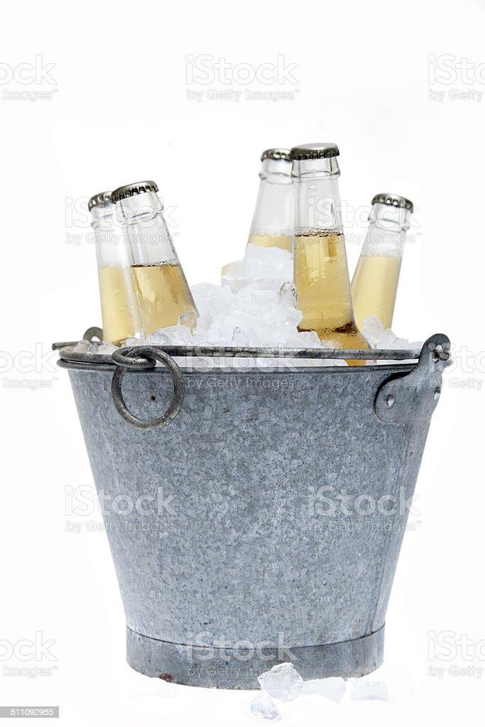 Garrafas de cervejas - foto de acervo