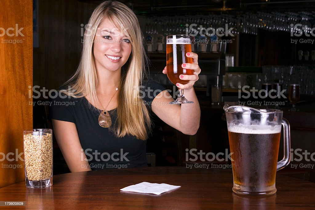 Beers to Cheers stock photo